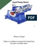 Pump Basics