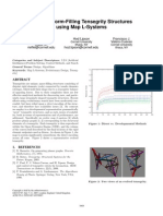 Growing Form-Filling Tensegrity Structures Using Map L-Systems by Rieffel, Lipson, Valero-Cuevas