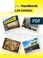 Dollar General Employee Handbook
