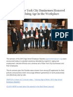 Age Smart Employer Event Summary