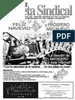 Gaceta Sindical Diciembre 2015