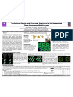 The Rational Design and Structural Analysis of a Self-Assembled Three-Dimensional DNA Crystal