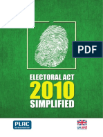 Electoral Act Simplified