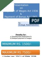 Bonus Nd Wage Act