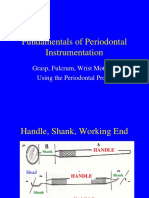 Principles of Periodontal Instrumentation