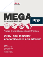 """MEGA """"2015 - Anul Temerilor Economice Care S-Au Adeverit"""""""