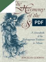 Joscelyn Godwin - Harmonija sfera, Pitagorejska tradcija u muzici