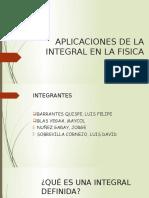 Aplicaciones de La Integral en La Fisica