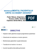 Raluca Fodor Managementul Pacientului Critic Cu Diabet Zaharat