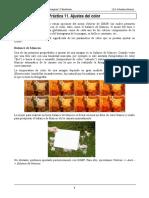 Práctica 11 - Ajustes Del Color