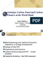 Prototype Carbon Fund and Carbon Finance at the World Bank3459
