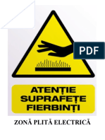 ZONĂ PLITĂ ELECTRICĂ