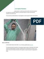 Testing Enclosures for Ingress Protection