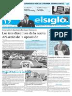 Edición Impresa Elsiglo 17-12-2015