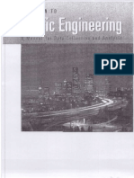 Traffic Eng a Manual for Data Collection & Analysis