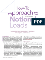 A How-To-Approach to Notional Loads