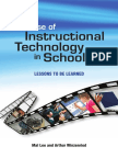Mal Lee, Arthur Winzenried-The Use of Instructional Technology in Schools_ Lessons to Be Learned (2009)
