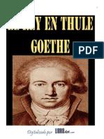 Goethe - El rey Tule (Ed._Facsímil)