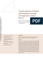 Penn Povinelli 2007b Causal Cognition
