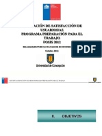 Informe Fosis PPT