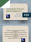 Organización Del Mantenimiento