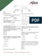 Matematica Determinantes Exercicios 1