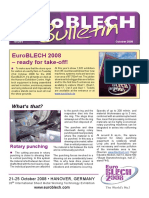 EuroBLECH Bulletin October08-Eng
