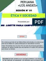 Diapositivas Etica y Sociedad Unidad i - Administración - Lisette Campos