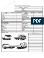 Check List Vehiculos transporte material