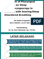 PPT Jurnal - Sleep Disordered Breathing