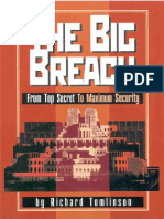Big Breach From Top Secret to Maximum Security, 1st Edition, 2001-01