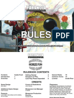 Paranoia Card Game Rules