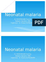 NEONATAL MALARIA new one.ppt