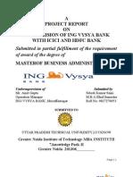 Ing Vysya Bank Project