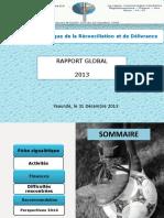 Rapport Global Merd 2013