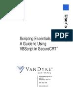 Scripting Essentials