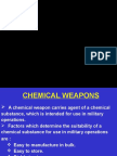21. Chemical Weapons