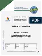 ANEXO 18. Procedimiento Comunicacion, Participacion y Consulta