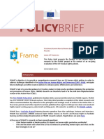 FRAME Policy Brief