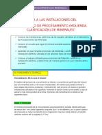 4° LABORATORIO - VISITA A LAS INSTALACIONES DEL LABORATORIO DE PROCESAMIENTO (MOLIENDA, CLASIFICACIÓN) DE MINERALES.docx