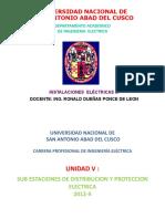 Subestaciones Eléctricas - por Ing. Ronal Dueñas Ponce de Leon