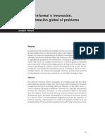 Economia Informal e Innovacion