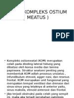 Kom ( Kompleks Ostium Meatus )