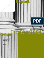 Congressional Research Service Modified Annual Report FY2004