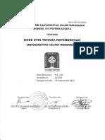 BidII PU 04 2012 SDM Kode Etik Tenaga Kependidikan