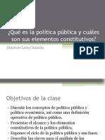 1. Política Publica