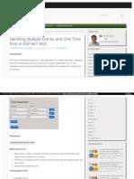 ASP.net Mvc Multiplos Textbox