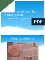 manualul școlar