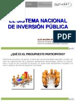 Snip y Manual Ptvo Informativa Miraflores