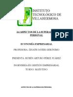 Economia 3 6 Aspectos de La Suepracic3b3n Personal
